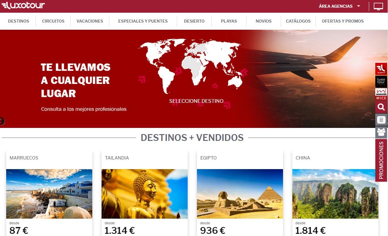 Luxotour estrena nueva web y la marca MiMarruecos