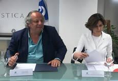 Miguel Mirones e Isabel Oliver.
