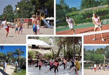 Playa Montroig Camping organiza torneos deportivos