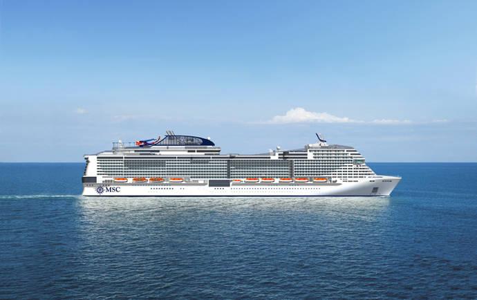 MSC Cruceros refuerza su plan de expansión de flota