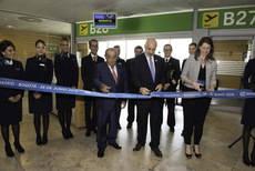 Inauguración de la ruta Madrid-Bogotá.