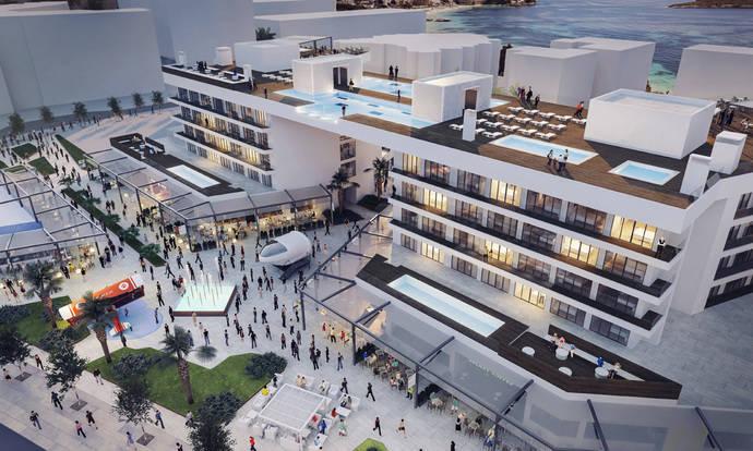 Meliá abrirá en julio el nuevo hotel Calviá Beach The Plaza en Magaluf