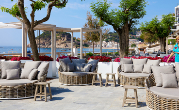 Mercè Borrell presenta un hotel de estilo mediterráneo