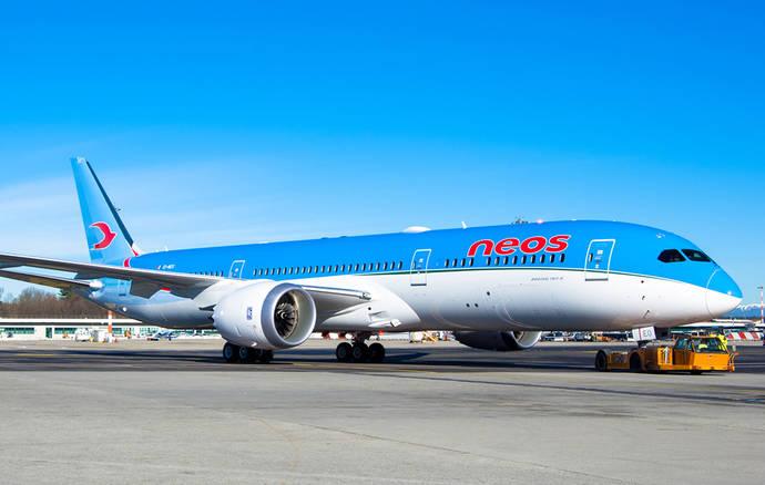 Alpitour incorpora el primer Boeing 787 Dreamliner