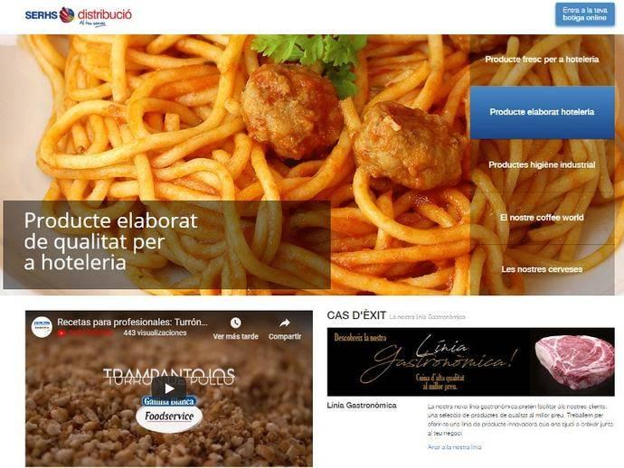 Serhs mejora su 'web' para alcanzar las ventas 'online' previstas