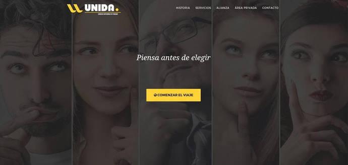 Unida renueva su página web tras salir del concurso