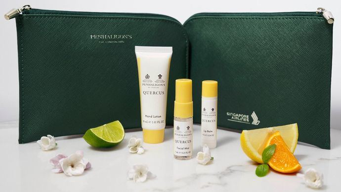 Penhaligon's para los pasajeros Business de Singapore Airlines
