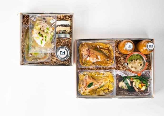NH lanza sus menús 'take away' para estas navidades