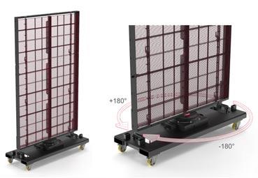 PRG crea una pantalla giratoria 360º para eventos
