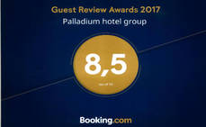 Palladium recibe el Guest Review Awards 2017