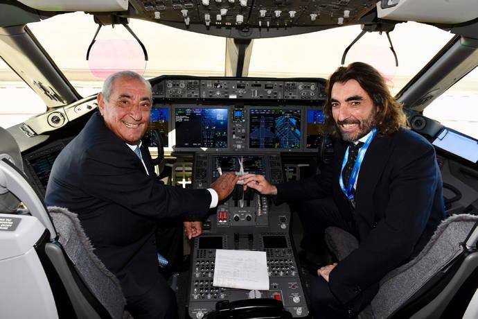 Air Europa presenta su primer Boeing 787-9 Dreamliner