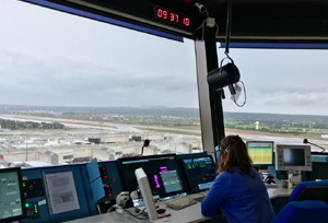 Enaire prueba con éxito el sistema de aterrizaje vía satélite en Palma de Mallorca