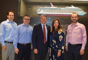Carnival Cruises podrá atracar su buque más pesado en el puerto de Cañaveral