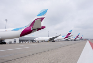 Eurowings presenta los 77 nuevos aviones de su flota,comprados a Air Berlin