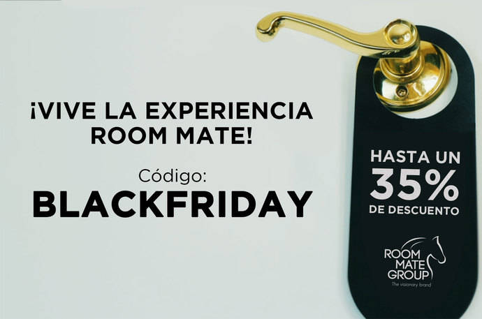 Room Mate celebra el Black Friday con descuentos del 35%
