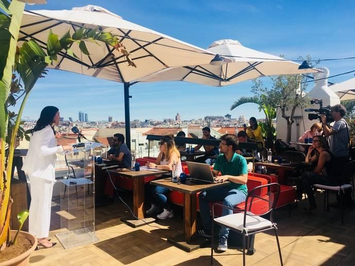 Madrid muestra sus terrazas, jardines y piscinas con 'A Cielo Abierto'