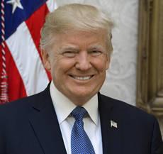 El presidente del Gobierno de Estados Unidos, Donald Trump.
