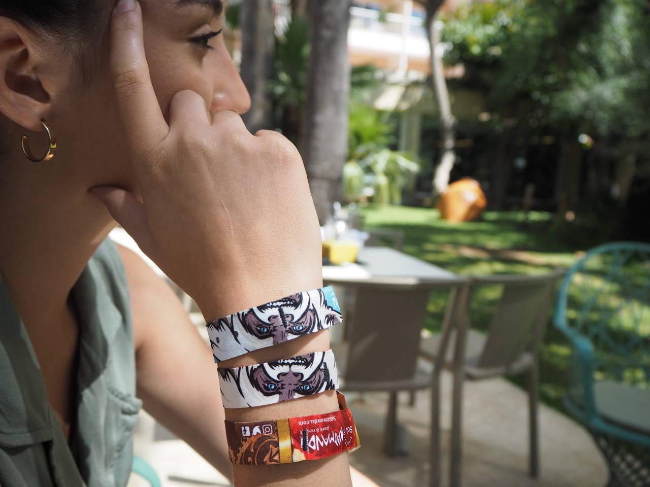 Las nuevas pulseras Meliá, desarrolladas por Oracle