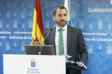 El consejero de Turismo de Canarias, Isaac Castellano.