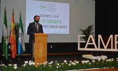 El consejero en la inauguración de la Red de Municipios contra la Estacionalidad.