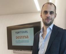 El director de estrategia del grupo Destinia,  Ricardo Fernández.
