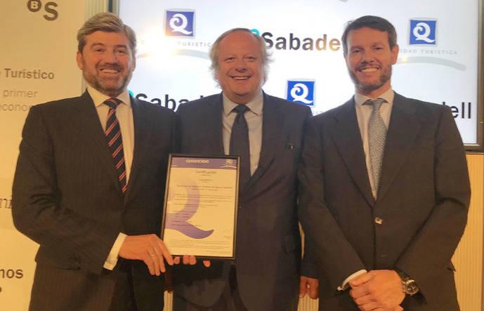 Sabadell, primer banco certificado con la 'Q' de Calidad