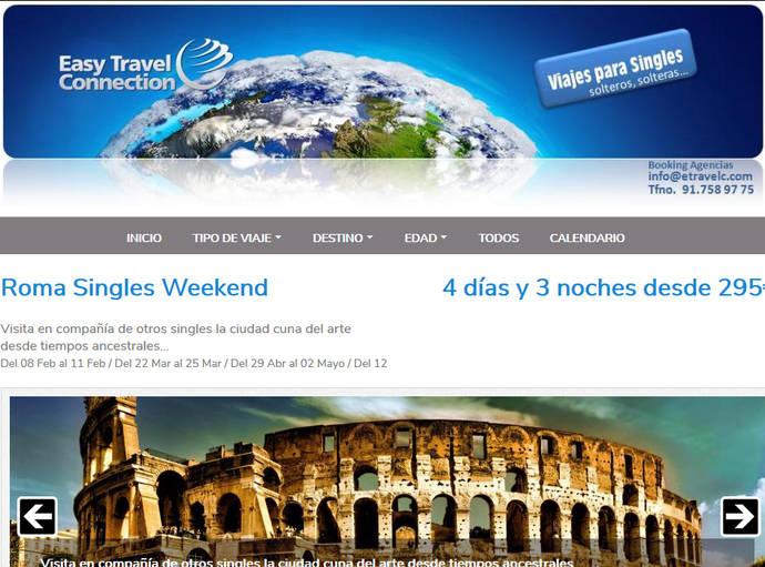 Crece el interés de las agencias por los viajes para 'singles'