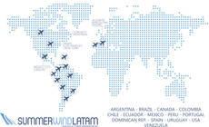 Mapa con los países en los que tiene presencia Summerwind.