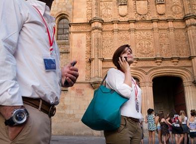 Salamanca reúne en 490 eventos a 97.975 delegados durante 2015