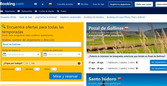 Siguen aumentando las reservas hoteleras mediante plataformas 'online'