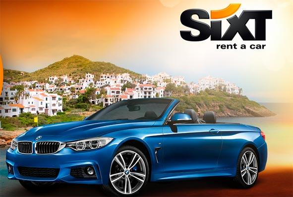 Los servicios de alquiler de Sixt llegan a Menorca