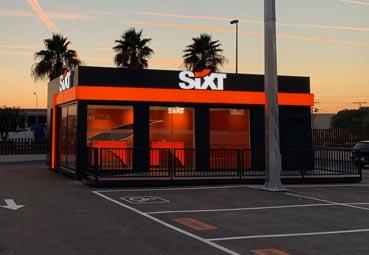 Sixt abre una oficina de 'rent a car' en Paterna