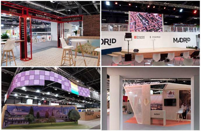 (Somos) Firm creó el espectacular stand de Madrid en Fitur
