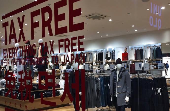 Las ventas 'tax free' crecen un 1% en el primer semestre