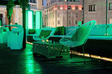 El hotel Mayorazgo abre su terraza en julio y agosto