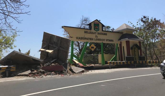 InterMundial activa un plan para los afectados por el terremoto de Lombok