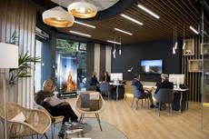 La nueva tienda de Zaragoza ocupa un espacio de 100 metros cuadrados.