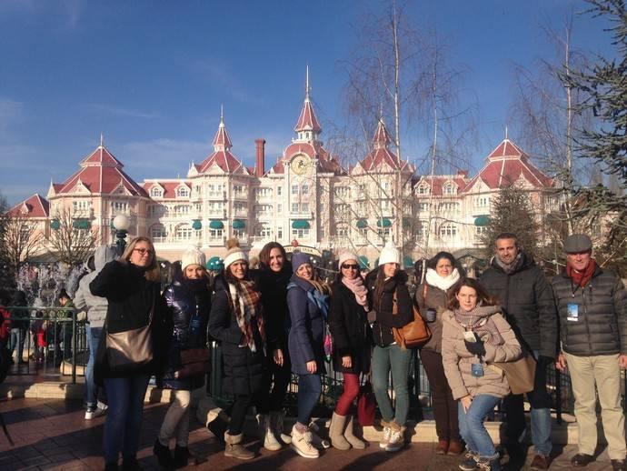 Globalia lleva a Disneyland a más de 300 agentes