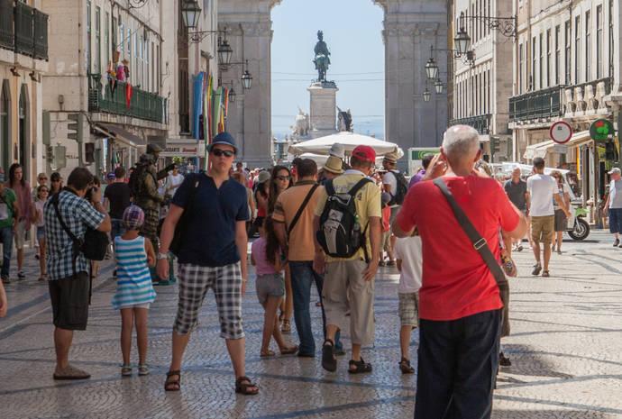 El Turismo mundial crece un 5% en el primer cuatrimestre