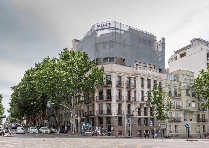 Mazabi adquiere un edificio de uso hotelero en Madrid