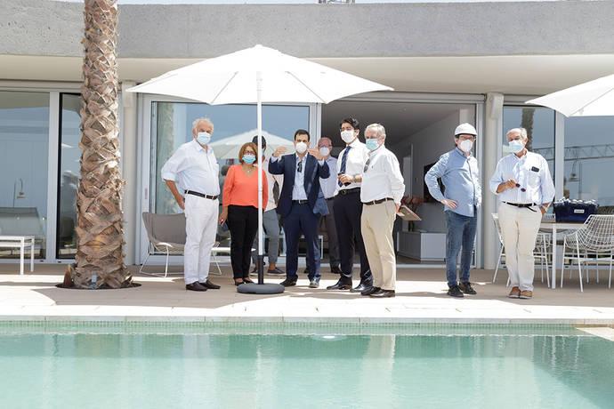 Abama Luxury inaugura el piloto de Villas del Tenis