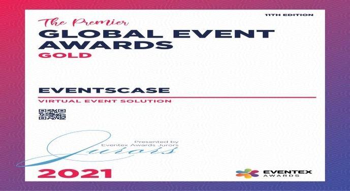 EventsCase triunfa en los Premios Eventex 2021 con dos galardones internacionales
