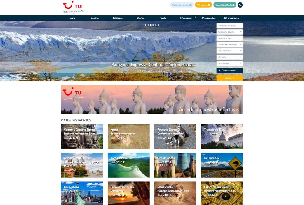 TUI Spain Estrena Una Nueva Web De Circuitos 'pensada Por