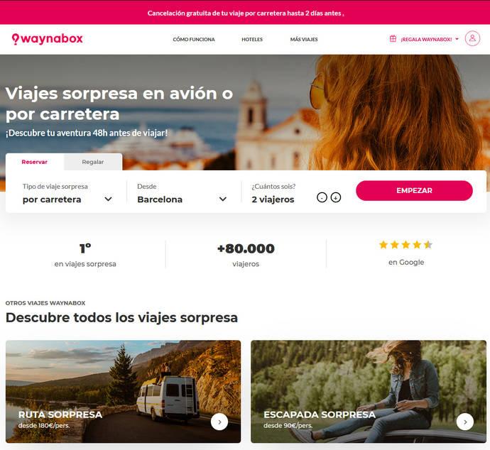 Waynabox suspende la venta de sus viajes por Europa