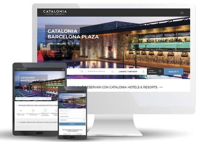 Catalonia Hotels & Resorts renueva su página web