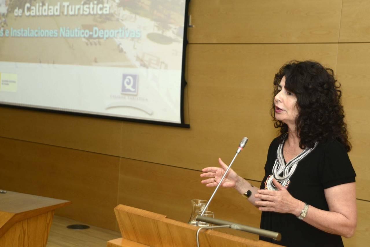 Matilde Asián: 'El futuro de España se llama Turismo'