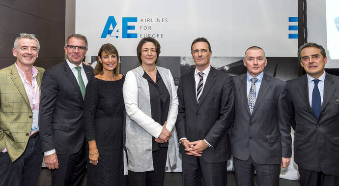 Los gigantes aéreos urgen a Bruselas a actuar contra las huelgas de controladores