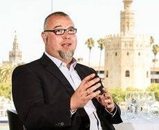 El nuevo director comercial del Grupo Abades, Pedro López.