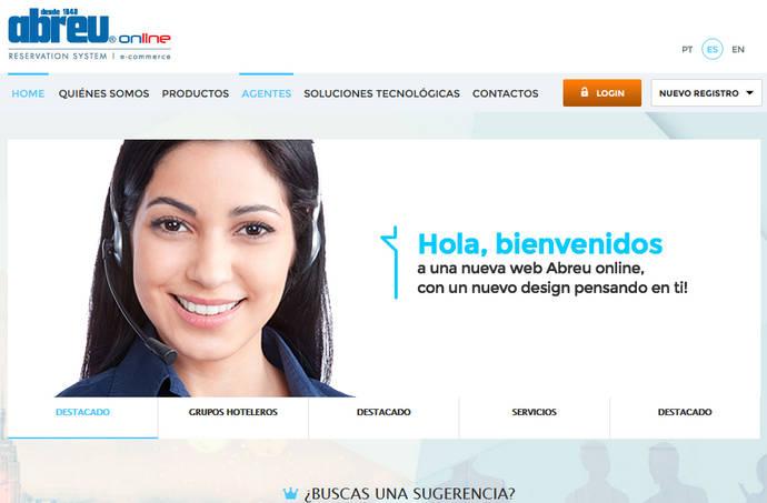 Abreu 'online' conecta con cerca de 2.000 agencias