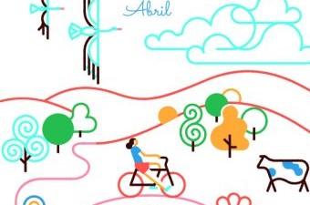 Paradores cierra su campaña de marca con un calendario ilustrado